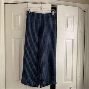 Eileen Fisher linen crop pants